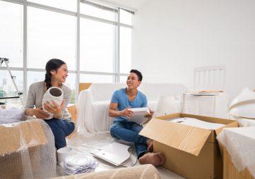 Embalaje piso y protección de muebles