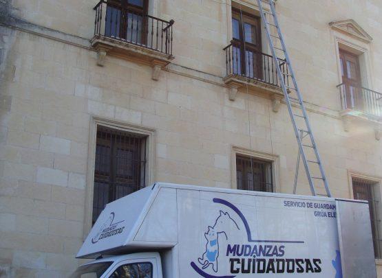 Mudanza Palacio del Infantado